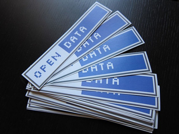 Photo credit: Open_Data_stickers.jpg by Jonathan Gray (CC0 1.0)