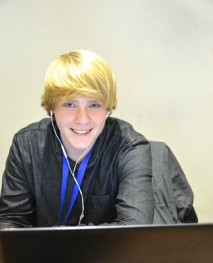 Bram Buijs, youngest attendee and coder at the 10th ODF Plugfest.