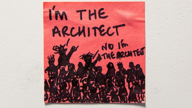 I'm the architect!